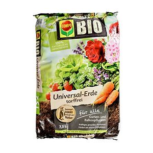 Top compo bio universal erde torffrei hochwertige torffrei blumenerde mit ganzjähirger anwendbarkeit mit 100 natürlichen inhaltsstoffen 75 l