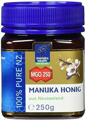 Buy manuka health manuka honig mgo 250 250g 100 pur aus neuseeland mit zertifiziertem methylglyoxal gehalt