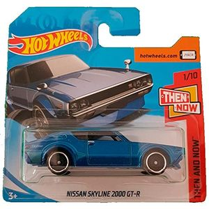 hot wheels nissan skyline 2000 gt r then and now 110 118365