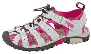 deals for - pdq trekking sandalen für damen mit schnellverschluss und elastischem kordelzug grau grau fuchsia größe 355