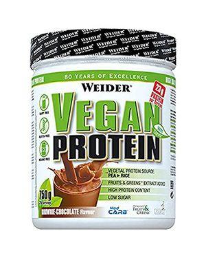 Calientes Weider Vegan Protein, Chocolate - 750 gr guía del comprador