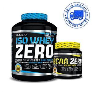 Iso whey zero + bcaa flash zero 2,27 kgs chocolate opinión