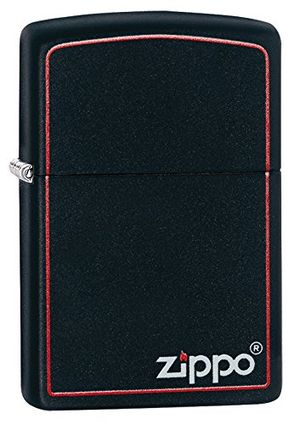 Hot Zippo Logo 60001437 - Mechero, color black matte antes de compra