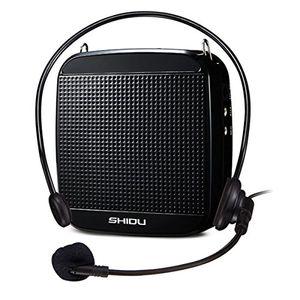 Cheap shidu sd s512 sprachverstärker 18w mit 1200mah lithium batterie und internes mikrofon für lehrer reiseleiter und yoga lehrer schwarzwired