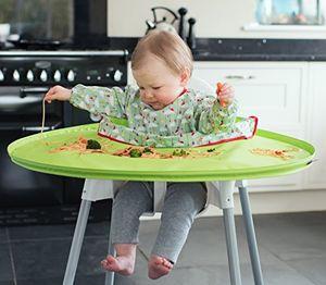 Kit bandeja y babero Tidy Tot. Verde . De 6 a 24 meses. Alimentación complementa. Mejor compra