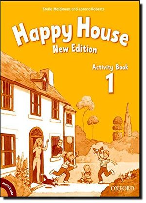 Hot happy house 1 activity book happy second edition