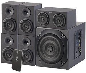 Angebote für -auvisio 5 1 soundsystem analoges 51 lautsprecher system für pc tv dvd beamer co 120 w soundsystem für tv