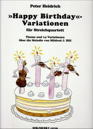 happy birthday variationen streicher quartett