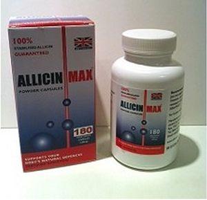 Review for Allicin Max - 180 Cápsulas Vegetarianas Mejor compra