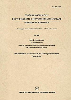 deals for - das verkleben von aluminium mit carboxylsubstituierten polystyrolen forschungsberichte des wirtschafts und verkehrsministeriums nordrhein westfalen band 656