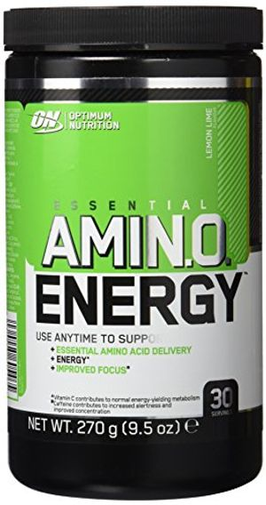 Barato Optimum Nutrition Amino Energy, Limón y Lima - 270 g ofertas de hoy