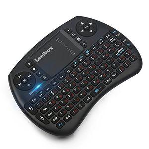 deals for - sonderangebotswoche mini drahtlose tastatur mit touchpad maus leelbox 24ghz mini wireless keyboard mini usb tastatur geeignet für alle gerät was mit usb port(deutschem tastaturlayout