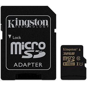 kingston sdca1032gb microsdsdhc 32gb speicherkarte mit adapter uhs 1 90mbps lesegeschwindigkeit 45mbps schreibgeschwindigkeit