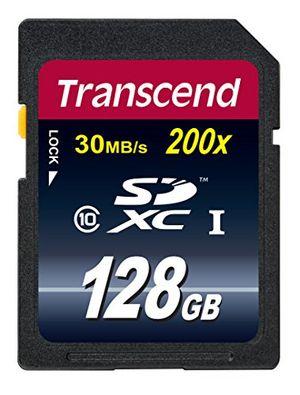 photos of Transcend Extreme Speed SDXC 128GB Class 10 Speicherkarte (bis 22MB/s Lesen) [Amazon Frustfreie Verpackung] Vatertag  Kaufen   model Computer & Zubehör