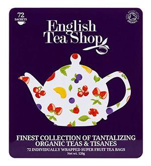 Angebote für -english tea shop hochwertige tee geschenkbox aus metall super fruit mit 72 bio tees
