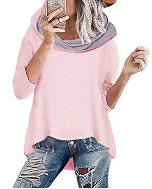 Angebote für -shallgood damen herbst winter kapuzenpullover hoodies langarm kapuzenpulli rollkragen sweatshirt oberteil pullover tops bluse kapuzen sweatshirt