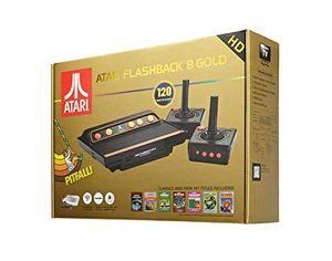 atari flashback 8 gold hd retro konsole mit 120 spielen und 2 kabellosen controllern