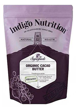 Cheap Manteca De Cacao Orgánico - 1 kg (Orgánico Certificado) Mejor oferta