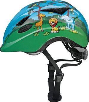 abus unisex kinder fahrradhelm anuky 08184 grün jungle gr s 46 52 cm