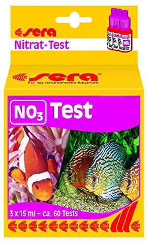 sera 04510 no3 test 15 ml nitrat test für ca 60 messungen misst zuverlässig und genau den nitratgehalt für süß meerwasser im aquarium oder teich