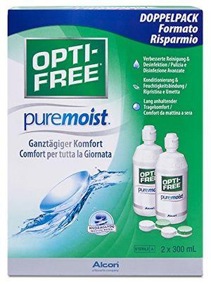 ofertas para - alcon opti free puremoist paquete de suministro 2 x 300 ml 1 pack 1 x 600 ml