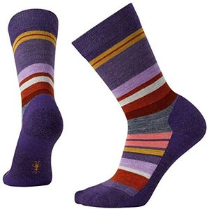 smartwool damen saturnsphere socke mountain purple heather l