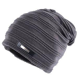 deals for - coco fashion unisex beanie mütze elastisch slouch strickmütze warme wintermütze skimützen 042grau one size