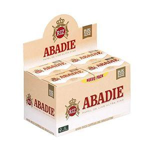 Comprar PAPEL DE FUMAR ABADIE 78MM BLOC 500 HOJAS (CADA ESTUCHE CONTIENE 20 LIBRITOS) ofertas Especiales