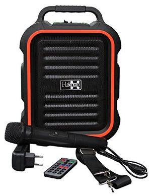 photos of E Lektron EL16 P Tragbare Soundanlage USB/Bluetooth PA Soundsystem Mit Mikrofon Portable Karaoke Pro Cons Kaufen   model Musical Instruments