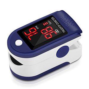 Pulsómetro Digital Oxímetro de Pulso Pulsioxímetro de Dedo con Pantalla LED, Monitor de Frecuencia Cardíaca y Medidor de Oxígeno en Sangre SpO2 para Hogar y Profesional, Adultos y Niños, Uso Deportivo guía del comprador