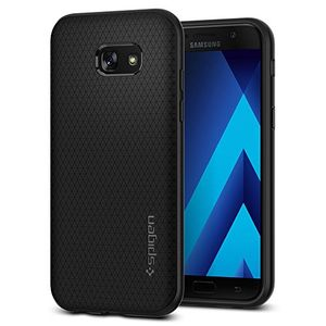 Angebote für -samsung galaxy a5 2017 hülle spigen® liquid air soft flex silikon schwarz premium tpu capsule luftpolster air cushion technologie handyhülle schutzhülle für samsung galaxy a5 2017 case cover samsung a5 2017 case cover black 573cs21143
