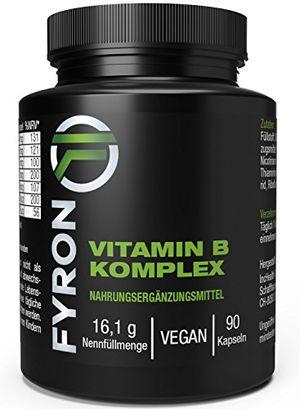 Angebote für -fyron vitamin b komplex vitamine b1 b2 b3 b5 b6 b12 biotin 90 kapseln