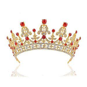Angebote für -rosenice diadem hochzeit krone braut stirnbänder braut strass haarreifen brautjungfern braut kopfschmuck golden