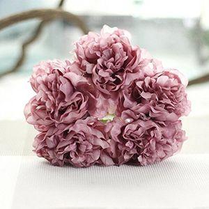 Angebote für -longra wohnaccessoires deko kunstblumen künstliche seide kunstblumen pfingstrose blumen hochzeit bouquet braut hortensie dekor e