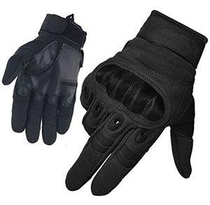 Hot limirror herren taktische handschuhe handschuhe fahrradhandschuhe motorrad handschuhe outdoor sport handschuhe fitness handschuhe army gloves ideal für airsoft militär paintball airsoft jag schwarz l