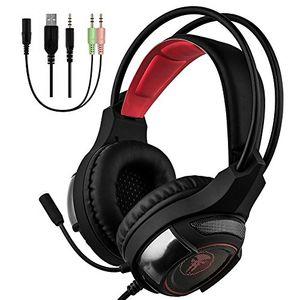 Review for horsky gaming headset kopfhörer mit led mikrofon noise cancelling für laptop pc mac ps4xbox schwarz