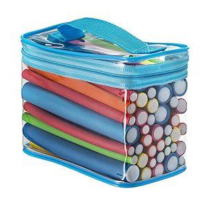 ofertas para - pinkiou 42 piezas 7 tamaños rodillos flexibles rodillos twist flex rod flex flexionador de cabello juego de rodillos juego de rodillos de espuma de pelo color aleatorio