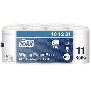 Tork 101221 - Pack de 11 bobinas de papel de secado, compatible con el sistema M1, 2 capas antes de compra