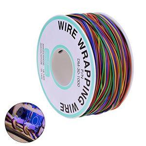 Cheap youngrich 280m isolierungs test verzinnte kupfer solid kabel 30awg 8 farben für laptop motherboard elektronischer test