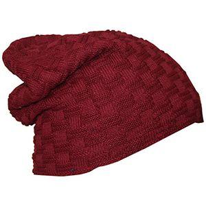 deals for - neu winter mütze beanie feinstrick teddyfleece mütze farbe bordeux rot flecht muster mit kuscheliges weiches fleece innenfutter unsiex für mann und frau in 7 farben erhältlich