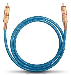 Angebote für -oehlbach nf 113 di 500 digitales audio cinchkabel hochwertiges spdif koaxialkabel mehrfach schirmung 75 ohm 5 m blau