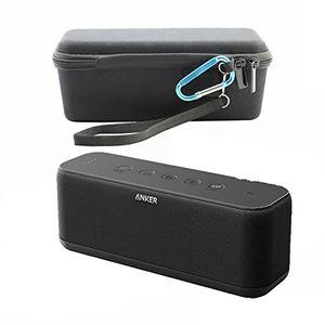 deals for - für anker soundcore boost 20w bluetooth lautsprecher tasche hülle case tragen taschen schalen eva hart fall reise passend für ladegeräte und kabel schwarz