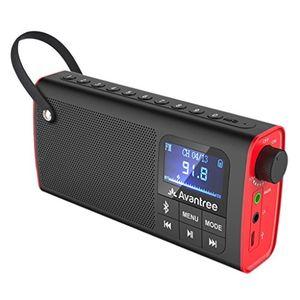 Angebote für -avantree portable radio fm bluetooth lautsprecher sd card player 3 in 1 auto scan save led display wiederaufladbarer akku sp850