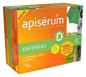 Barato Apiserum Defensas 1500 mg 20 viales Mejor compra