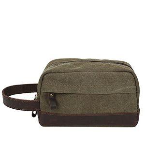 Angebote für -otomoll mã¤nner und frauen handtasche leinwand kulturbeutel retro mini handtasche militã¤r grã¼n