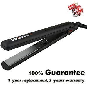 ofertas para - mhd profesional plancha de pelo de cerámica plana de hierro 140c 230 c de alisado rápido de apagado automático de doble voltaje cable 265m