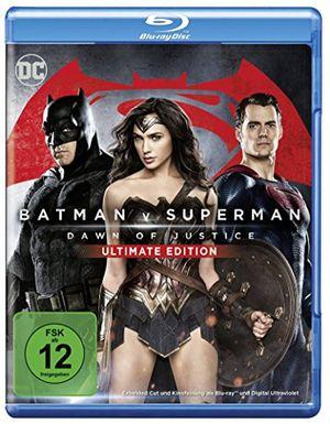 batman v superman dawn of justice ultimate edition blu ray