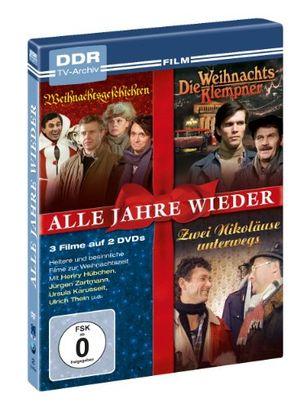 Angebote für -alle jahre wieder ddr tv archiv weihnachtsgeschichten die weihnachtsklempner zwei nikoläuse unterwegs 2 dvds