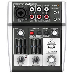 deals for - behringer xenyx 302usb 5 input mixer mit xenyx mic preamp und eingebautem usb audio interface
