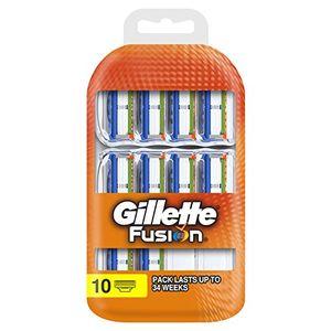 Cheap Gillette fusion - Cuchillas de recambio para maquinilla de afeitar (10 unidades) Hot oferta